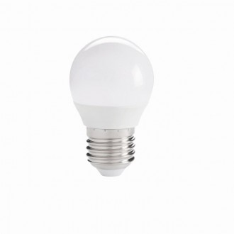 KANLUX 27303 | E27 5,5W -> 40W Kanlux malá guľa G45 LED svetelný zdroj IQ-LED 470lm 2700K 220° CRI>80