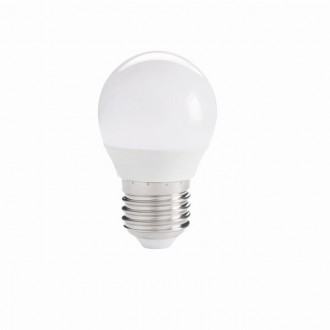 KANLUX 27305 | E27 5,5W -> 41W Kanlux malá guľa G45 LED svetelný zdroj IQ-LED 490lm 6500K 220° CRI>80