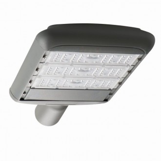 KANLUX 27332 | Street-LED Kanlux uličné / verejné osvetlenie svietidlo 1x LED 11700lm 4000K IP65 sivé
