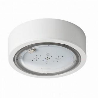 KANLUX 27380 | iTech Kanlux viacúčelové núdzové osvetlenie 3h - stenové, stropné, zabudovateľné svietidlo - ST kruhový 1x LED 245lm 5000K IP65 biela