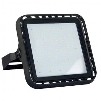 KANLUX 28492 | FL-Master Kanlux svetlomet svietidlo obdĺžnik otočné prvky, regulovateľná intenzita svetla 1x LED 28600lm 4000K IP65 IK08 čierna