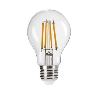 KANLUX 29601 | E27 7W -> 60W Kanlux normálne A60 LED svetelný zdroj filament 810lm 2700K 320° CRI>80