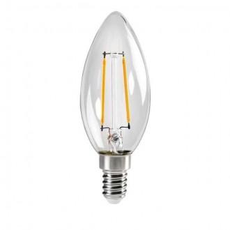 KANLUX 29617 | E14 2,5W -> 25W Kanlux sviečka C35 LED svetelný zdroj filament 250lm 2700K 320° CRI>80