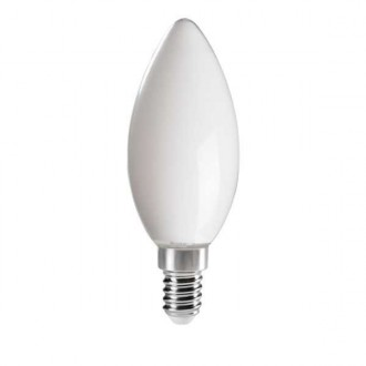 KANLUX 29623 | E14 6W -> 60W Kanlux sviečka C35 LED svetelný zdroj filament 810lm 4000K 320° CRI>80