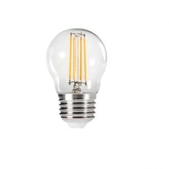KANLUX 29625 | E27 4,5W -> 40W Kanlux malá guľa G45 LED svetelný zdroj filament 470lm 2700K 320° CRI>80
