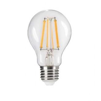 KANLUX 29635 | E27 7W -> 60W Kanlux normálne A60 LED svetelný zdroj Step Dim. 810lm 4000K regulovateľná intenzita svetla impulzový prepínač 320° CRI>80