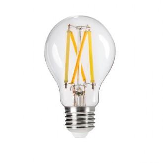 KANLUX 29636 | E27 7W -> 60W Kanlux normálne A60 LED svetelný zdroj Step CCT 810lm 2700 - 4000 - 6500K nastaviteľná farebná teplota impulzový prepínač 320° CRI>80