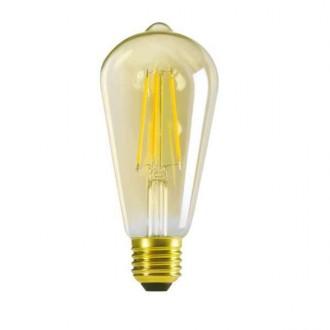 KANLUX 29637 | E27 7W -> 55W Kanlux Edison ST64 LED svetelný zdroj filament 725lm 2500K 320° CRI>80