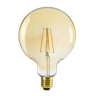 KANLUX 29638 | E27 7W -> 55W Kanlux veľká guľa G125 LED svetelný zdroj filament 725lm 2500K 320° CRI>80