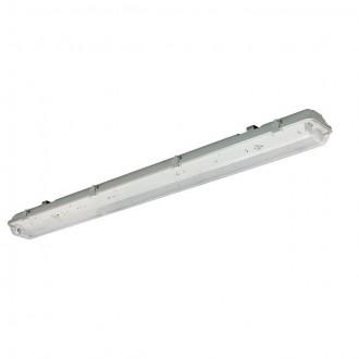 KANLUX 30010 | Dicht Kanlux stropné, visiace armatúra 2x G13 / T8 IP65 sivé
