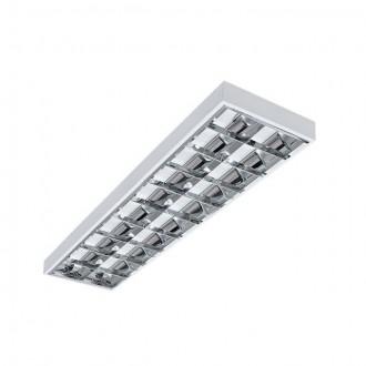 KANLUX 30172 | RSTR-LED Kanlux stropné armatúra obdĺžnik určené pre T8 LED zdroje 2x G13 / T8 LED UV biela