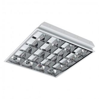 KANLUX 30174 | RSTR-LED Kanlux sadrokartónový strop armatúra štvorec určené pre T8 LED zdroje 4x G13 / T8 LED UV biela