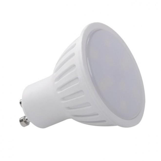 KANLUX 30191   GU10 6W -> 39W Kanlux spot LED svetelný zdroj SMD 450lm 5300K 120°