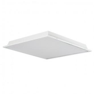 KANLUX 30200 | Trez Kanlux sadrokartónový strop LED panel štvorec 1x LED 3250lm 5000K IP44/40 hliník, biela