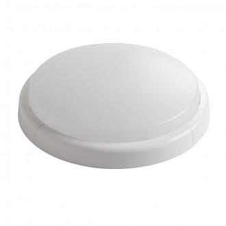 KANLUX 30411 | Duno Kanlux stenové, stropné svietidlo kruhový 1x LED 1280lm 4000K IK06 biela