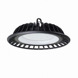 KANLUX 30482 | Hibo-LED Kanlux LED osvetlenie haly svietidlo 1x LED 13500lm 4000K IP65 čierna
