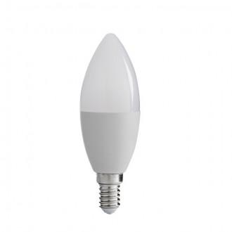 KANLUX 31037 | E14 8W -> 48W Kanlux sviečka C37 LED svetelný zdroj SMD 600lm 3000K 210°
