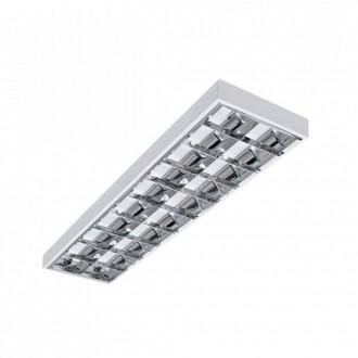 KANLUX 31058 | RSTR-LED Kanlux stropné armatúra obdĺžnik určené pre T8 LED zdroje 2x G13 / T8 LED UV biela