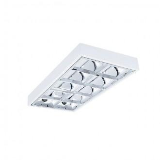 KANLUX 31060 | RSTR-LED Kanlux stropné armatúra obdĺžnik určené pre T8 LED zdroje 2x G13 / T8 LED UV biela