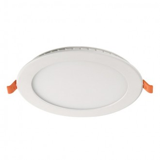 KANLUX 31081 | SP-LED Kanlux zabudovateľné, stropné LED panel kruhový 1x LED 900lm 4000K biela