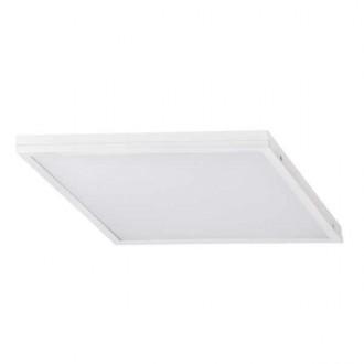 KANLUX 31134 | Barev Kanlux sadrokartónový strop, stropné, visiace LED panel štvorec 1x LED 3200lm 4000K biela