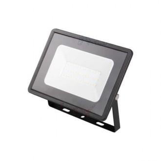 KANLUX 31152 | Grun Kanlux svetlomet svietidlo obdĺžnik otočné prvky 1x LED 2300lm 4000K IP65 čierna