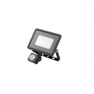 KANLUX 31154 | Grun Kanlux svetlomet svietidlo obdĺžnik pohybový senzor otočné prvky 1x LED 700lm 4000K IP44 čierna