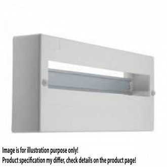 KANLUX 3854   Kanlux rozvádzač na stenu DIN35, 18P obdĺžnik IP30 IK06 biela