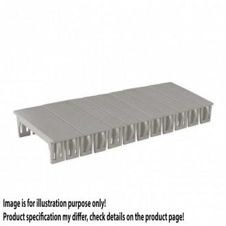 KANLUX 3859   Kanlux uzatvárací kryt DIN35 modul svetlo šedá