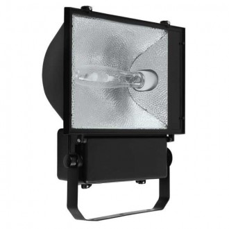 KANLUX 4013 | Avia-MTH Kanlux svetlomet svietidlo otočné prvky 1x E40 IP65 čierna, priesvitné