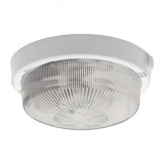 KANLUX 4260 | Tuna Kanlux stenové, stropné svietidlo kruhový 1x E27 IP44 biela