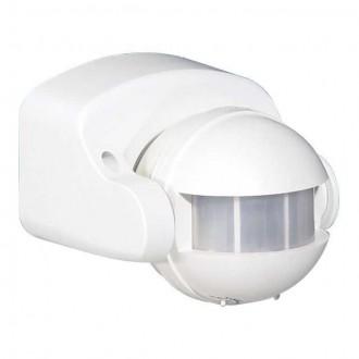 KANLUX 460 | Kanlux pohybový senzor PIR 165° otočné prvky IP44 biela