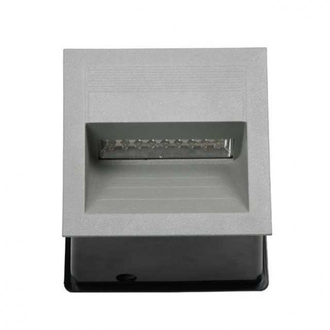 KANLUX 4684   Lica-LED Kanlux zabudovateľné svietidlo štvorec 135x135mm 1x LED 4000K IP65 sivé