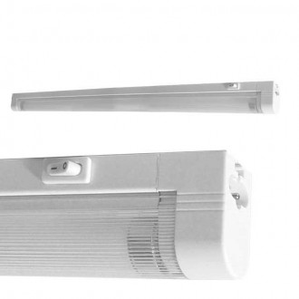 KANLUX 4731   Mera Kanlux stenové, stropné svietidlo prepínač 1x G5 / T5 4000K biela