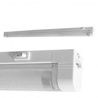 KANLUX 4732 | Mera Kanlux stenové, stropné svietidlo prepínač 1x G5 / T5 4000K biela