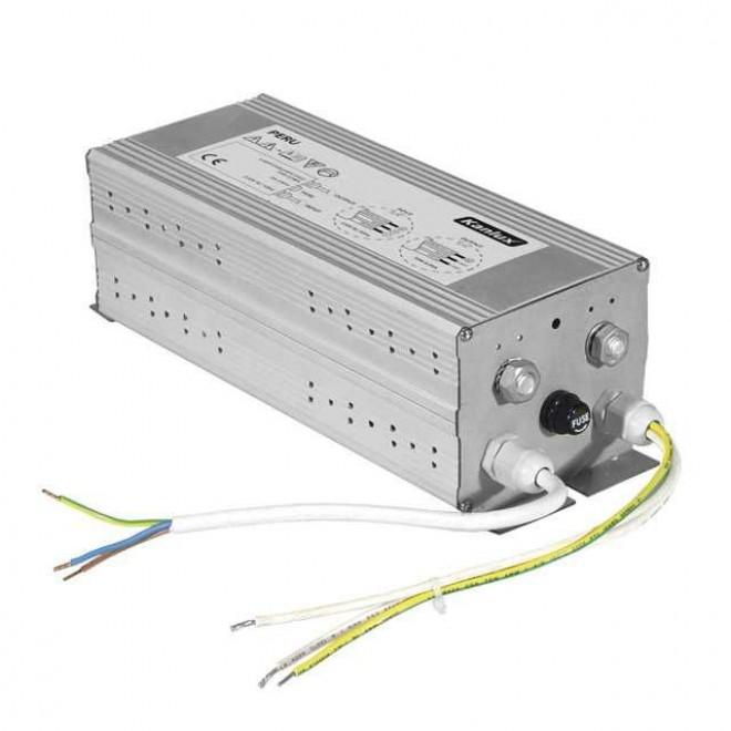 KANLUX 4781   Kanlux elektronická stabilizačná jednotka 150W 1,8A induktívny štartér obdĺžnik metal halogén, sodík hliník