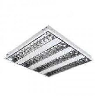 KANLUX 4830 | Graf Kanlux sadrokartónový strop armatúra štvorec 4x G5 / T5 biela