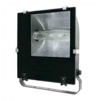 KANLUX 4842 | Adamo-MTH Kanlux svetlomet svietidlo otočné prvky 1x E40 IP65 čierna, priesvitné