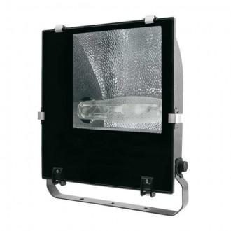KANLUX 4846 | Adamo-MTH Kanlux svetlomet svietidlo otočné prvky 1x E40 IP65 čierna, priesvitné