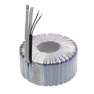 KANLUX 70403 | Kanlux toroidný transformátor 100W DIM 11,5V kruhový regulovateľný, tepelná poistka