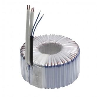 KANLUX 70408 | Kanlux toroidný transformátor 300W DIM 11,5V kruhový regulovateľný, tepelná poistka