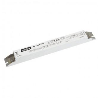KANLUX 70481 | Kanlux elektronická stabilizačná jednotka 1x36W T8 elektronický predradník obdĺžnik biela