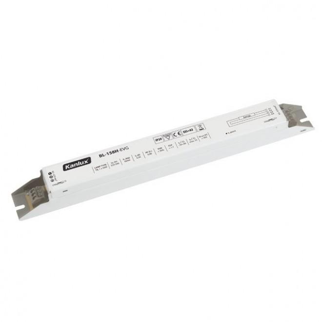 KANLUX 70482 | Kanlux elektronická stabilizačná jednotka 1x58W T8 elektronický predradník obdĺžnik biela