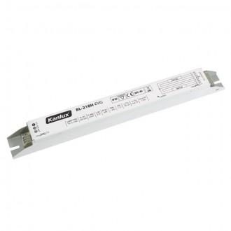 KANLUX 70483 | Kanlux elektronická stabilizačná jednotka 2x18W T8 elektronický predradník obdĺžnik biela