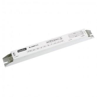 KANLUX 70484 | Kanlux elektronická stabilizačná jednotka 2x36W T8 elektronický predradník obdĺžnik biela