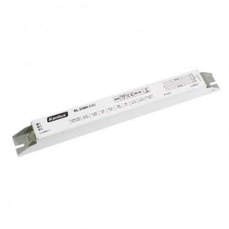 KANLUX 70485 | Kanlux elektronická stabilizačná jednotka 2x58W T8 elektronický predradník obdĺžnik biela