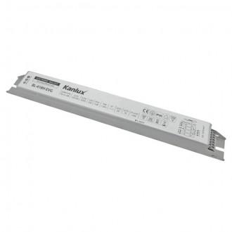 KANLUX 70486 | Kanlux elektronická stabilizačná jednotka 4x18W T8 elektronický predradník obdĺžnik biela