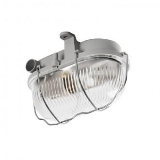 KANLUX 70522 | Milo1 Kanlux stenové, stropné svietidlo 1x E27 IP43 IK06 sivé