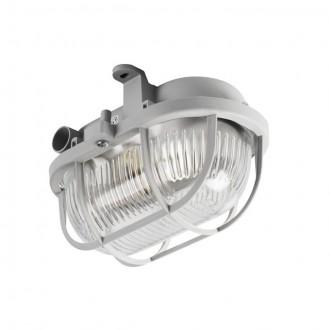 KANLUX 70523 | Milo1 Kanlux stenové, stropné svietidlo 1x E27 IP43 IK06 sivé
