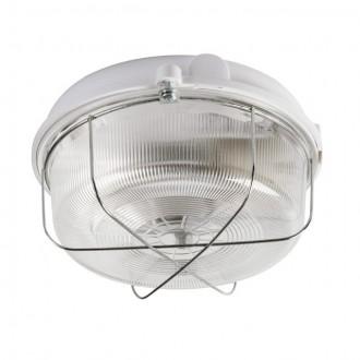 KANLUX 70525 | Ines Kanlux stenové, stropné svietidlo 1x E27 IP43 IK08 biela